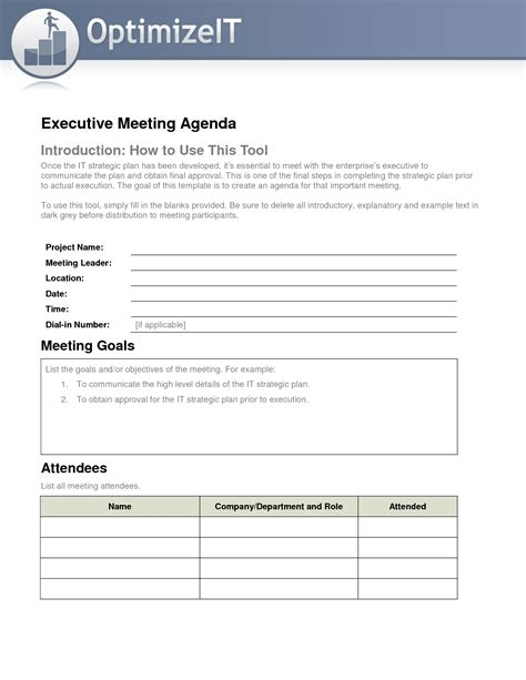 manager meeting agenda template best photos of weekly staff meeting template executive