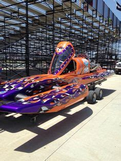 drag boat racing wheatland mo drag boat trailer grafted to the front half of a front