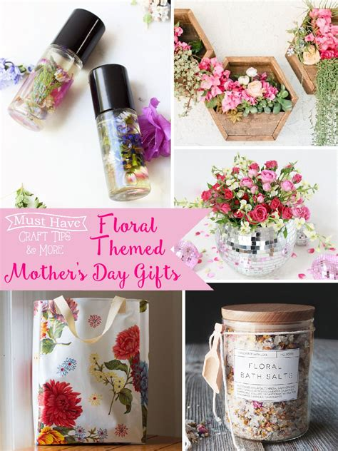 floral themed mother s day gift ideas the scrap shoppe