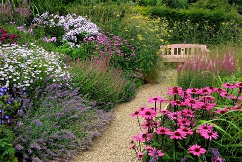 Traditional Cottage Garden Flowers Choosing A Garden Path The Enduring Gardener