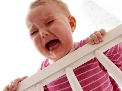 Baby Cries In Crib To Sleep Or Not To Sleep