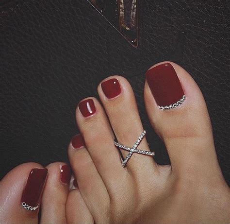 8 Pretty Manicure And Pedicure by 61 Stunning Wedding Toe Nail Ideas For Your Big Day