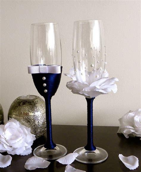 decoracion copas boda copas decoradas para bodas matrimonio bs 6 000 00 en