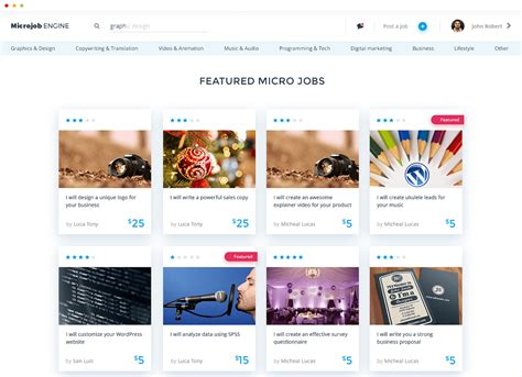 wordpress layout positions new micro jobs wordpress theme microjobengine v1 0