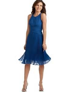 Anne klein sleeveless silk crisscross dress knee length evening