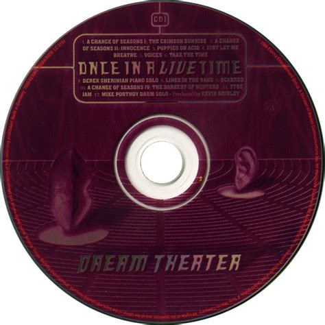 Cd Theater Once car 225 tula cd1 de theater once in a live time portada