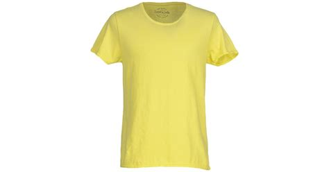 light yellow t shirt scotch soda t shirt in yellow for light yellow lyst