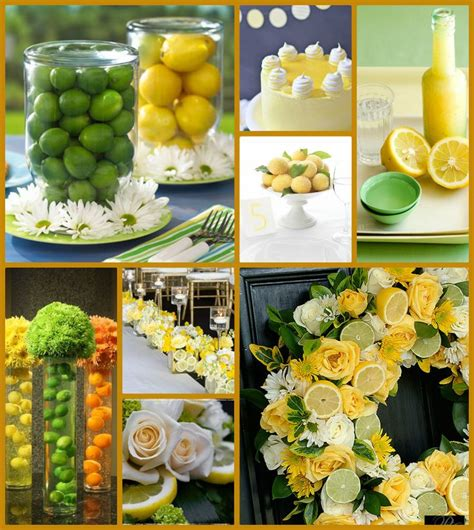 Lime Green Kitchen Ideas lemon lime colorboard 1 limao siciliano decoracao