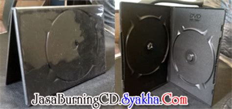 Dvd Box 6mm Single Gtpro duplikasi cd jasa duplikasi replikasi burning cd dvd