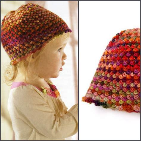 colorful stitches colorful stitches knotted openwork baby hat pattern
