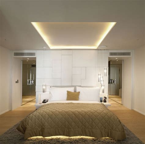 schlafzimmer licht this is like the floating wall between the bedroom and