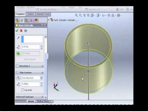 solidworks tutorial extrude solidworks tutorials 1 cut extrude youtube