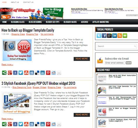 adsense for blogger seo friendly and adsense ready premium blogger template