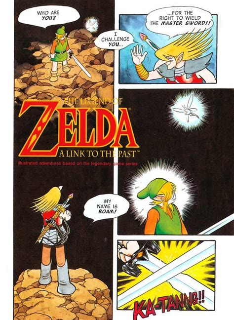 a link to the past comics chapter 01 roam mystery amino