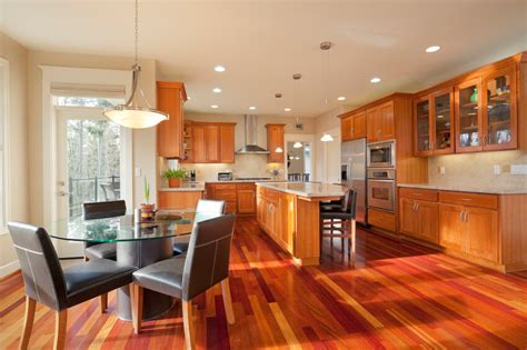 wood flooring ideas for kitchen 52 enticing kitchens with light and honey wood floors