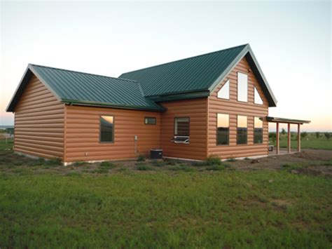 how to paint steel siding on a house trulog steel siding the look of logs without the logs