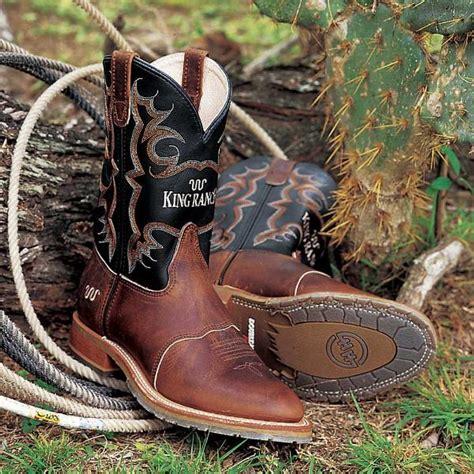 custom king ranch work boots king ranch saddle shop