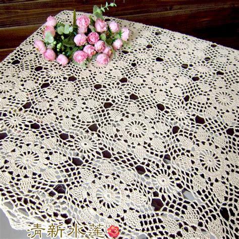 2018 wholesale fashion flowers design beige crochet bed