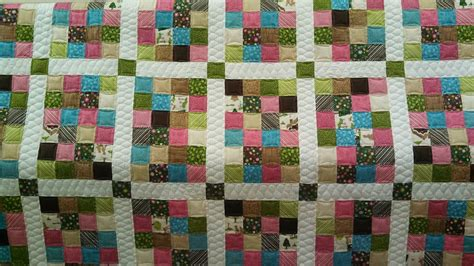 Patch Quilts Patterns by Quilts From The Bluffs 24 Patch Quilt Free Pattern
