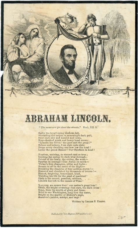 date of abraham lincoln