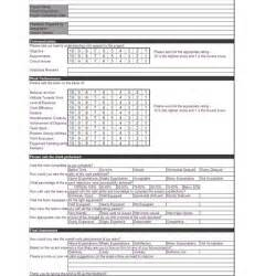feedback template excel free project feedback form template