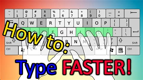 how to how to type faster learn how to touchtype fast