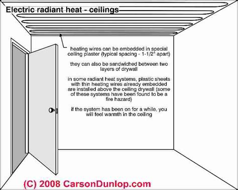 electric radiant heat ceiling how to repair electric heat staged electric furnaces