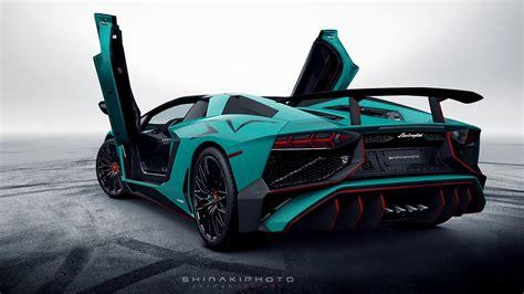 Lamborghini Aventador SV Roadster Wallpaper