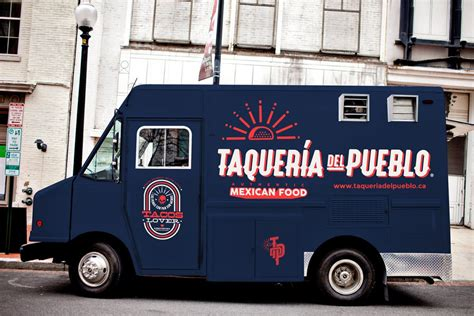 food truck brand design taqueria del pueblo food truck branding grits grids