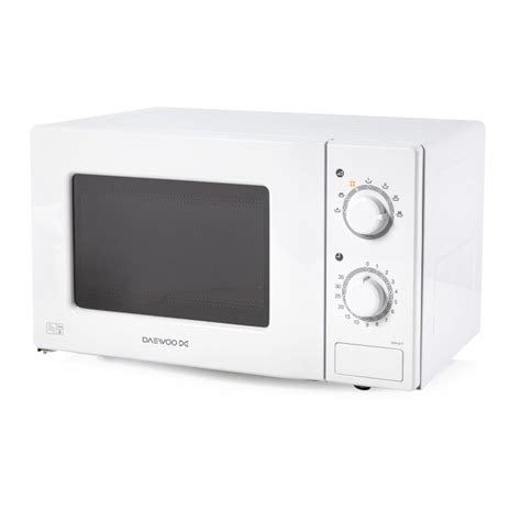 daewoo 20 litre microwave white buy at qd stores