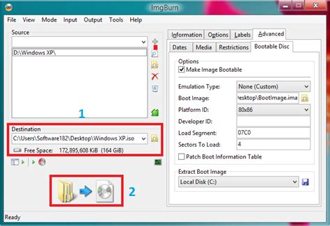 cara membuat bootable mini xp cara membuat file iso bootable untuk windows xp vista