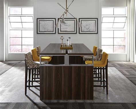 High Top Conference Table Inigo Series Modern Office Furniture