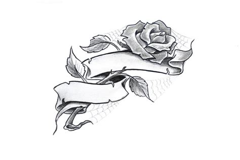 heart and scroll tattoo designs simple by ratdaddytattoo on deviantart