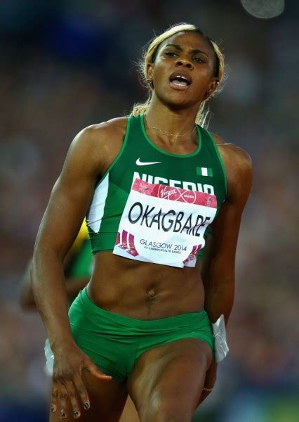 Jamaican Wedding Blessing by Nigeria S Blessing Okagbare Beats Jamaican Sprinter
