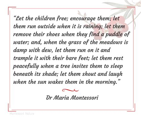 printable montessori quotes inspirational montessori quotes montessori nature
