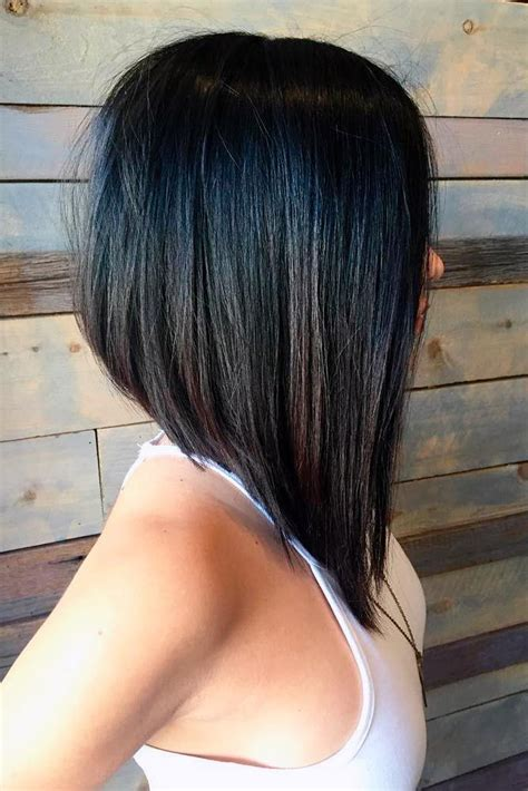 I Want To Wear A Long Stacked Bob | 25 best ideas about stacked bob long on pinterest