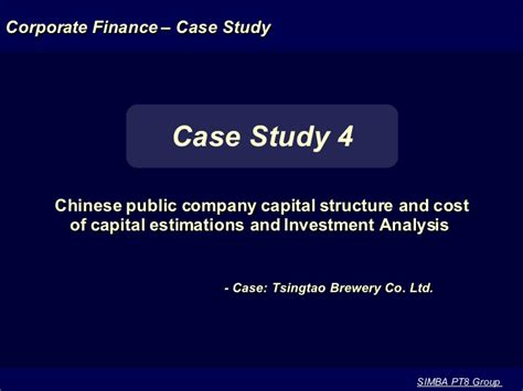 Cost Of Mba In 2003 by Tsingtao Brewery Mba Casestudy