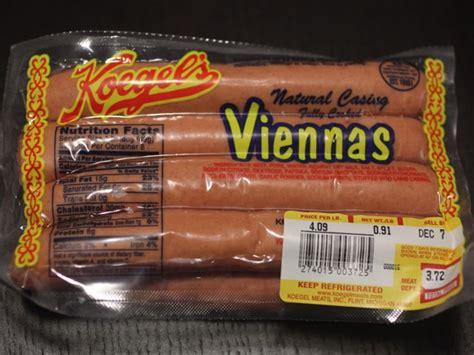 koegel dogs koegel s vienna dogs from flint michigan give sabrett a run for their money serious