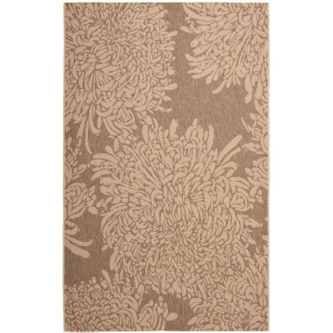martha stewart living area rugs martha stewart living martha stewart chrysanthemum beige beige 5 ft 3 in x 7 ft 7 in