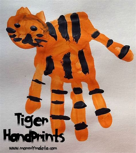 tiger crafts for india craft tiger print manicure