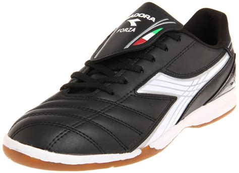 diadora football shoes diadora mens forza id soccer shoe in black for black