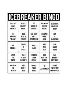 Icebreakers the best way to get a party started babble