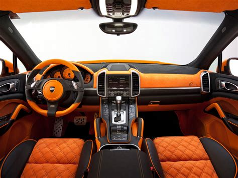 interior design car porsche cayenne s hybrid by lumma design 2012 interior