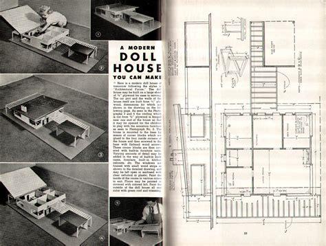doll house floor plans modusmodern the modern doll house