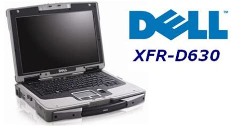 dell xfr d630 fully rugged laptop with many upgrades