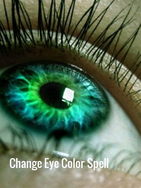 eye color spell change eye color spell cast ancient effective safe