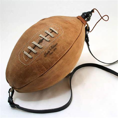 Handmade Leather Football - handmade leather football bota wineskin the green