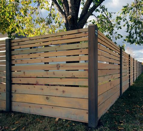 horizontal fence modern horizontal fence search fences