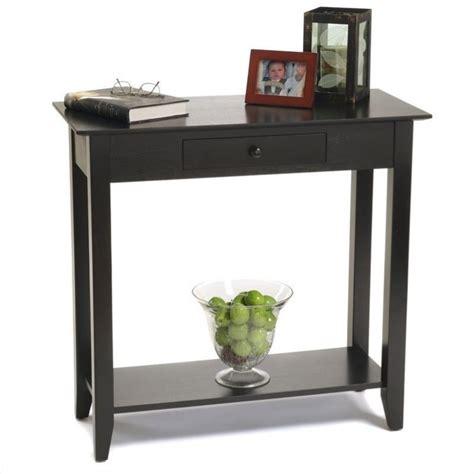 Black Hallway Table Table In Black 8013081 Bl