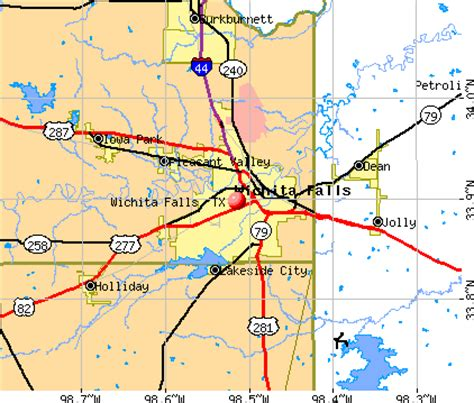 wichita falls tx profile population maps real